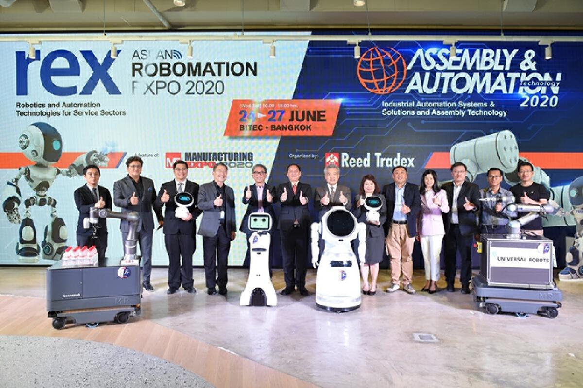 รี้ดฯ ปักหมุดประเทศไทย ศูนย์กลางงานแสดงหุ่นยนต์ภูมิภาค
