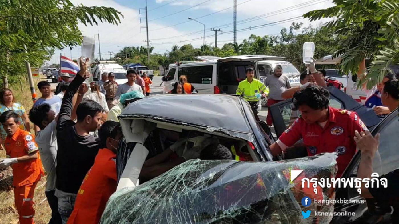 นักวิชาการ ชี้ ลดความเร็วช่วยลดอุบัติเหตุทางถนน