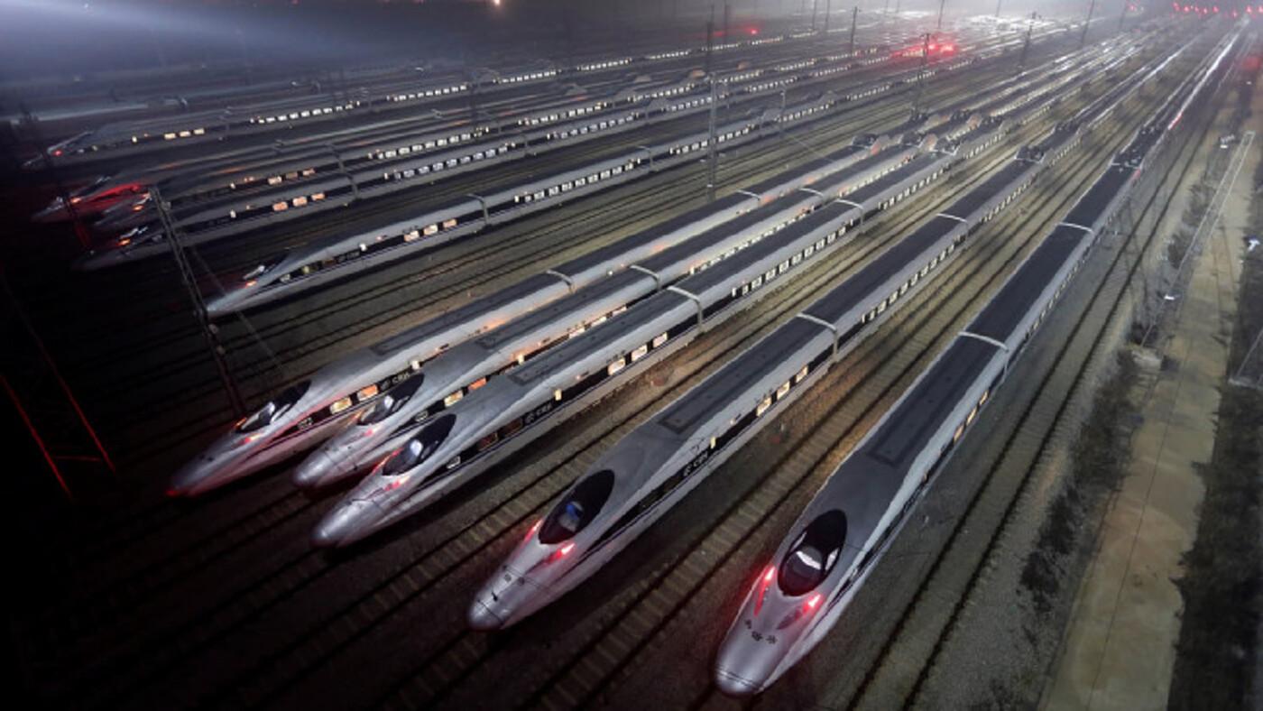 'จีน' โวมีเส้นทางรถไฟความเร็วสูงยาวที่สุดในโลก