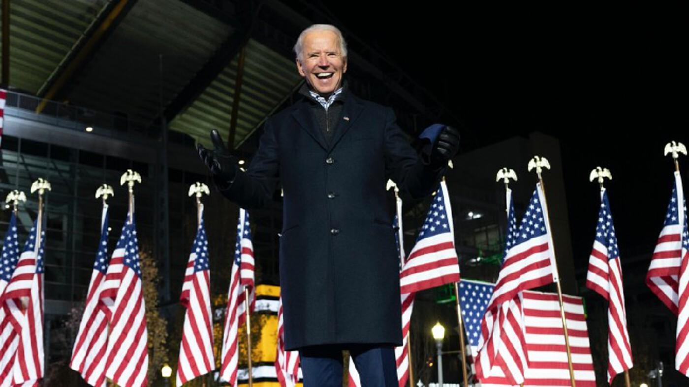 'โจ ไบเดน' จ่อคว้าชัย! 'เลือกตั้งสหรัฐ 2020' ลุ้น 270 เสียง