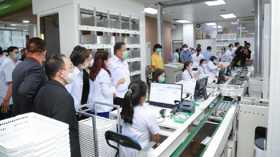 รพ.ขอนแก่น พัฒนา I-Smart Pharmacy ระบบจ่ายยาผู้ป่วยนอกอัตโนมัติ