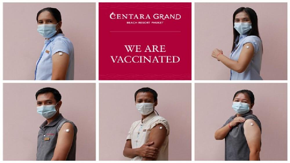 'เซ็นทารา' เดินหน้าฉีดวัคซีนพนักงานในภูเก็ตจนครบ ตอกย้ำความมั่นใจรับทัวริสต์ต่างชาติ!