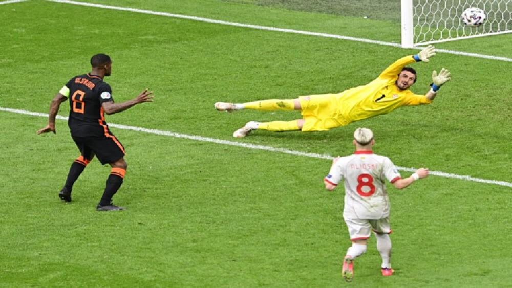 'เนเธอร์แลนด์' ถล่ม'มาซิโดเนียเหนือ' 3-0 เข้ารอบ 16 ทีมสุดท้าย ศึก 'ยูโร 2020'