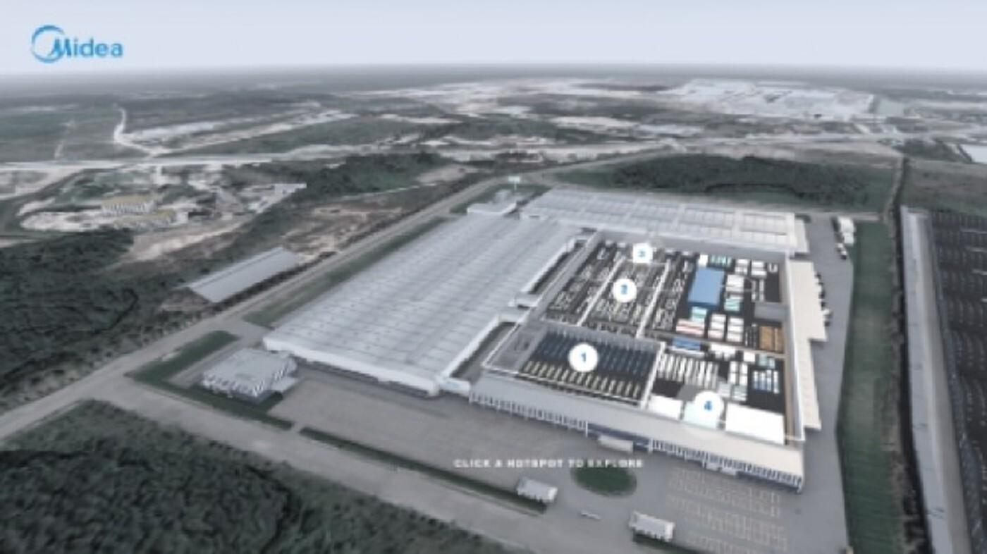 'ไมเดีย' มั่นใจศักยภาพไทย ปักหมุดเปิด 'โรงงานผลิตอัจฉริยะ' ปลายปีนี้