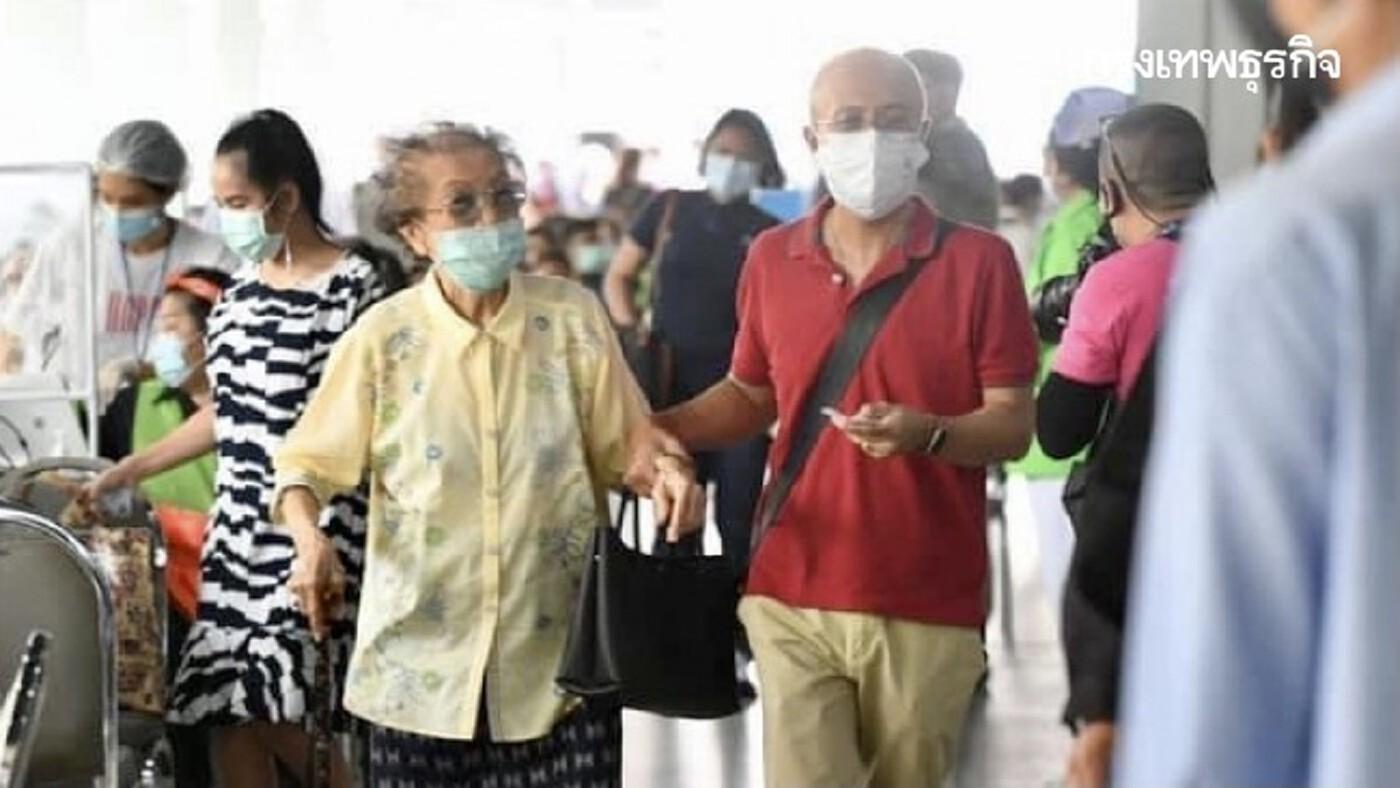 เปิด 'สถิติ' ช่วงอายุเสียชีวิตจาก 'โควิด' สูงสุด หนุนวัย 60 ปีขึ้นไปเร่งฉีดวัคซีนผ่าน 'ไทยร่วมใจ'