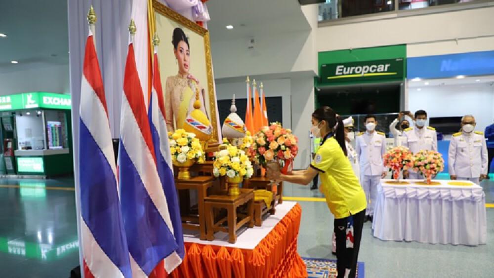 'เจ้าฟ้าสิริวัณณวรี' พระราชทานแจกันดอกไม้แก่น้องเทนนิส พาณิภัค คว้าชัยเทควันโด โอลิมปิก 2020
