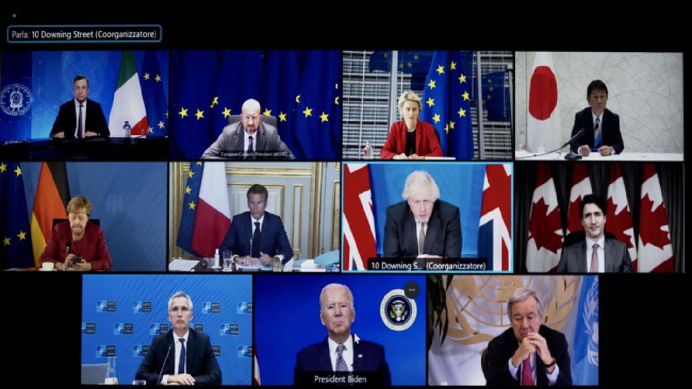 ผู้นำ G7 ชี้ตาลีบันต้องเคารพสิทธิมนุษยชน-ปราบก่อการร้าย