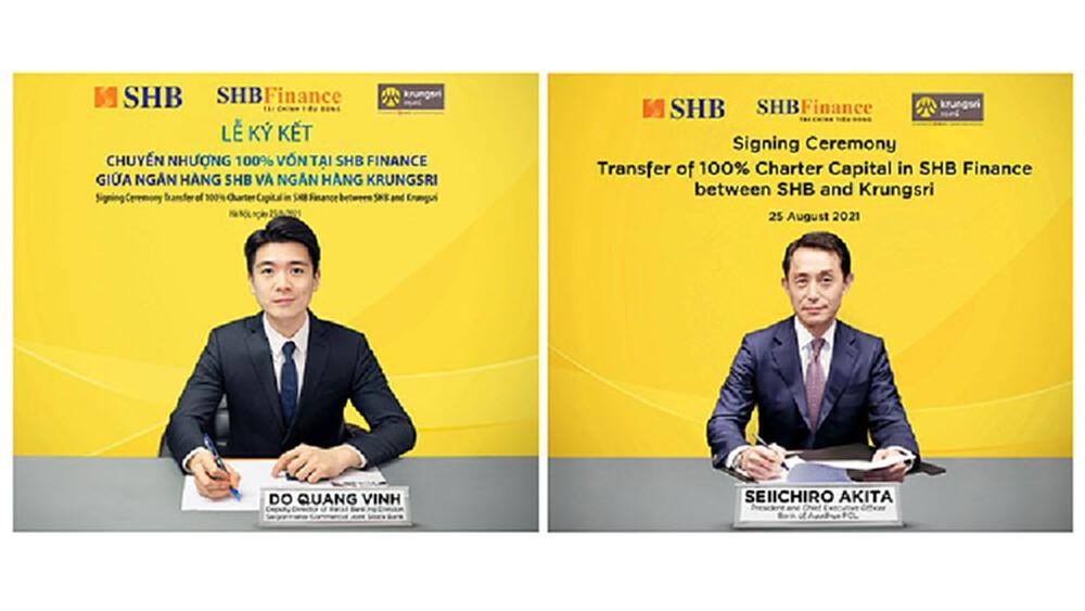 'กรุงศรี' เข้าซื้อกิจการ SHB Finance รุกธุรกิจในเวียดนาม