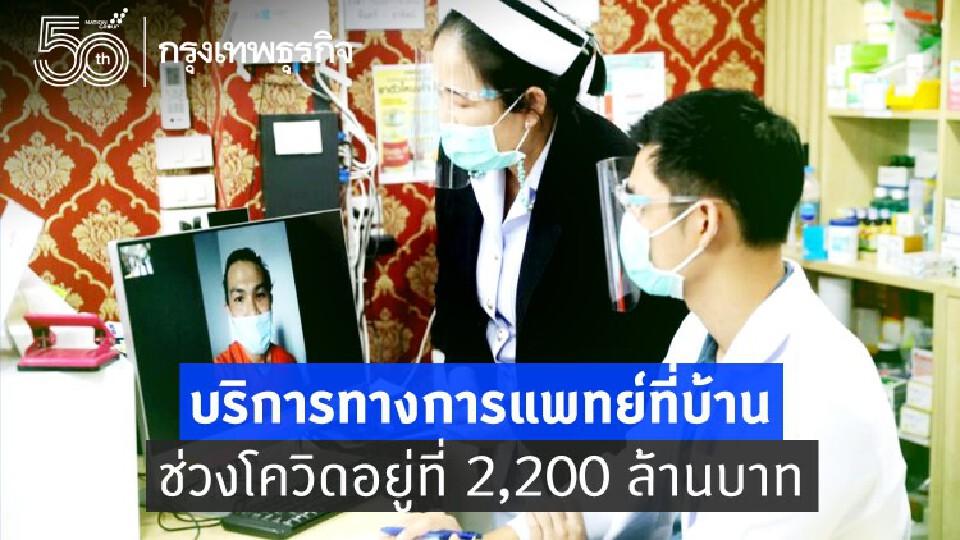 โควิด - สังคมผู้สูงอายุ แรงผลัก 'บริการทางการแพทย์ที่บ้าน' เติบโต