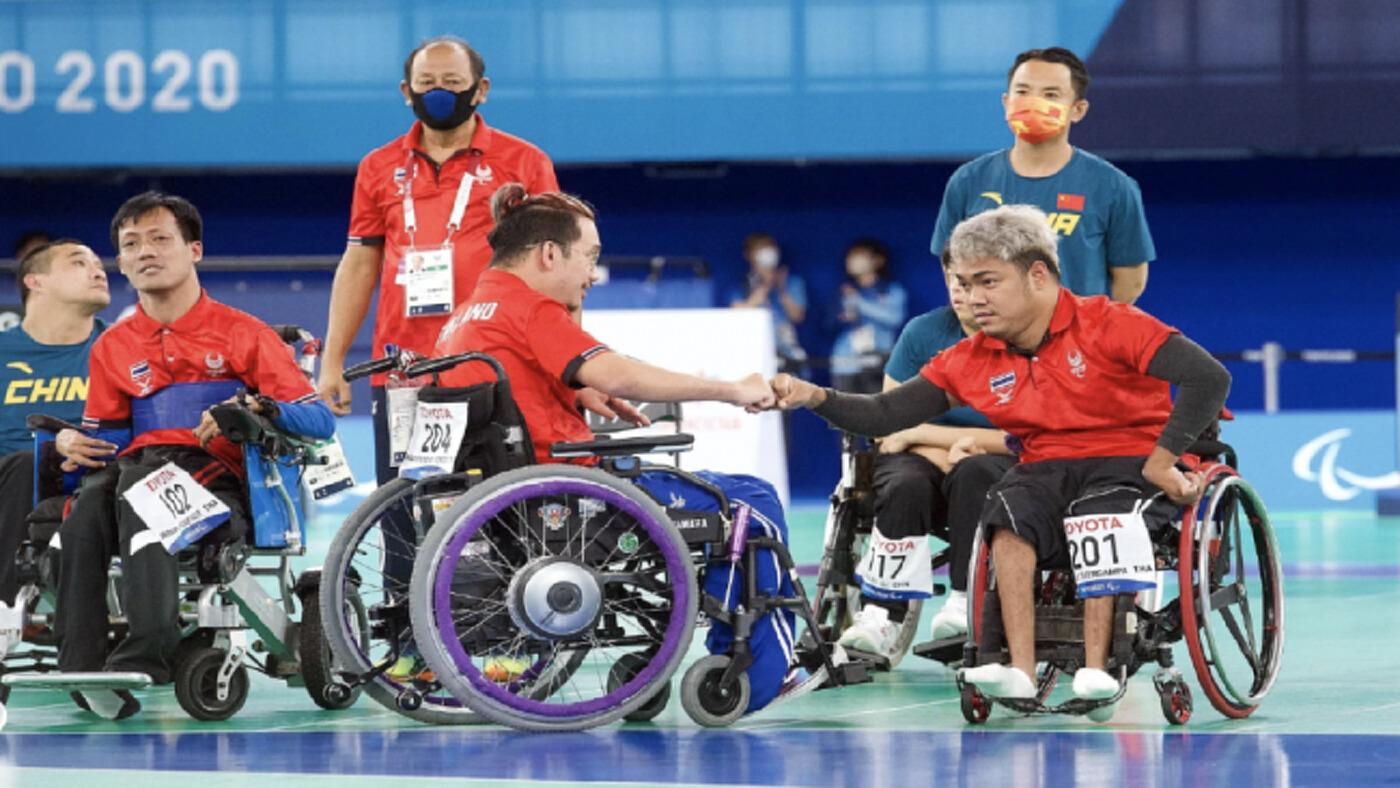ทีมบอคเซีย 'ไทย' เอาชนะ 'จีน' 8-2 ป้องกันแชมป์ได้สำเร็จ