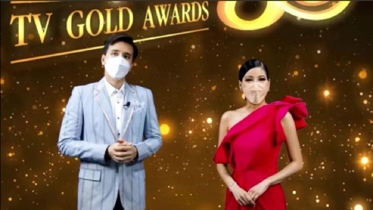 'ศรราม'-'คริส หอวัง' คว้านำชาย-นำหญิง 'โทรทัศน์ทองคำ' ครั้งที่ 35