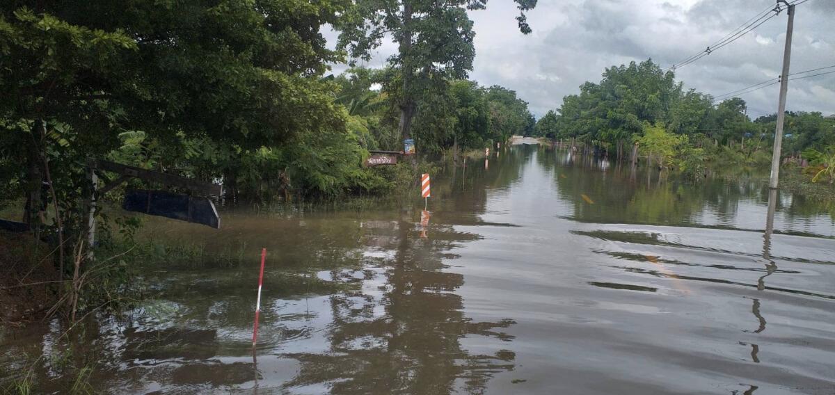 กรมทางหลวงชนบท เผยสายทางที่ได้รับผลกระทบจากอุทกภัย 16 จังหวัด 87 สายทาง