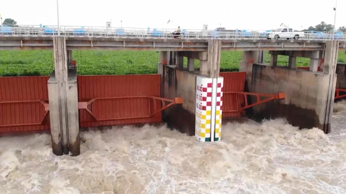 """เตือนพื้นที่ลุ่มน้ำเจ้าพระยา เฝ้าระวัง """"สถานการณ์น้ำ"""" จะเพิ่มสูงขึ้น"""