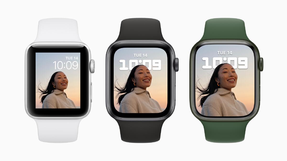 โฉมบาดใจ!!!  'Apple Watch  7' สีสันใหม่ จอใหญ่กว่าเดิม