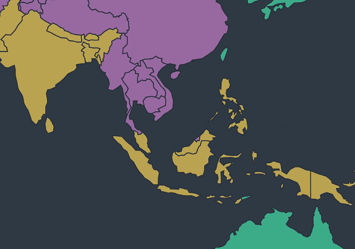 """""""ไทย"""" และ """"อาเซียน"""" อยู่ส่วนไหนของโลก """"ประชาธิปไตย"""""""