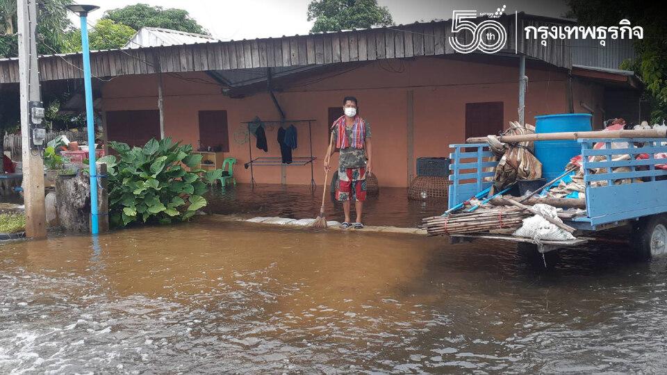 ภาคเหนือสุโขทัย -พิษณุโลกอ่วมหนัก เจอน้ำท่วมหนักในรอบ50ปี