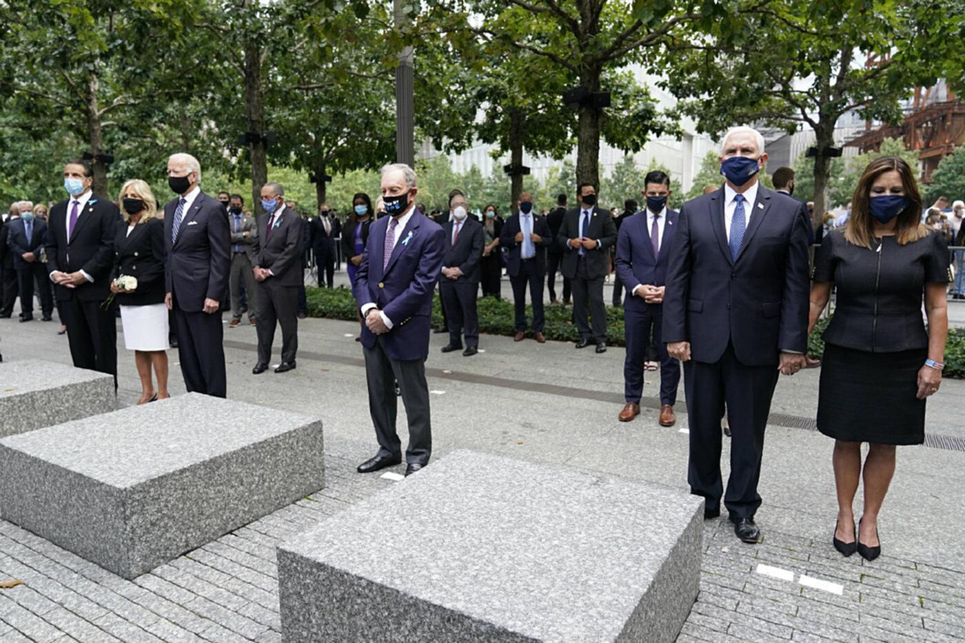 ไบเดนวอนชาวอเมริกันทุกคนเป็นหนึ่งเดียวกันเพื่อรำลึกเหตุวินาศกรรม 9/11