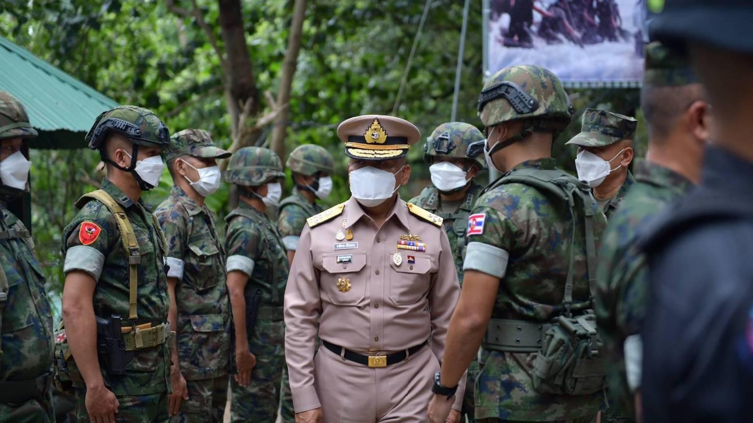 ผบ.ทร. อำลาหน่วยชายแดน จันทบุรี-ตราด ชื่นชมการปฏิบัติงานในหน้าที่