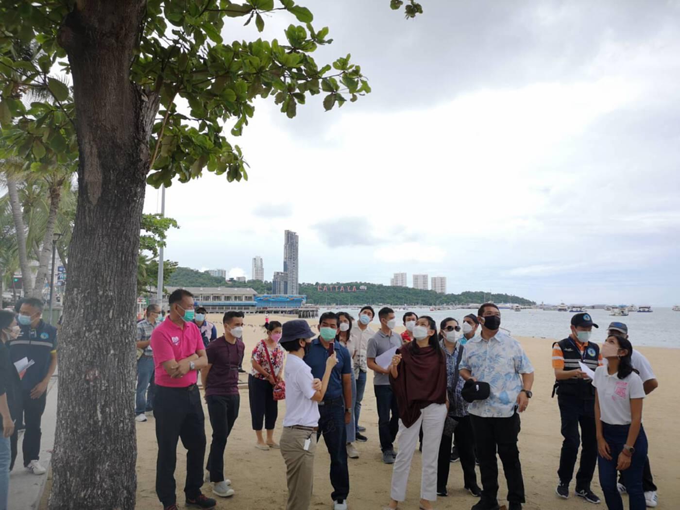 พัทยาเร่งปรับภูมิทัศน์ชายหาด หนุนท่องเที่ยว EEC