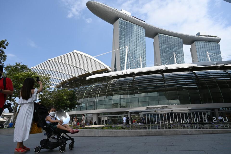 สหรัฐยกระดับเตือน สิงคโปร์เสี่ยงโควิดสูงสุด