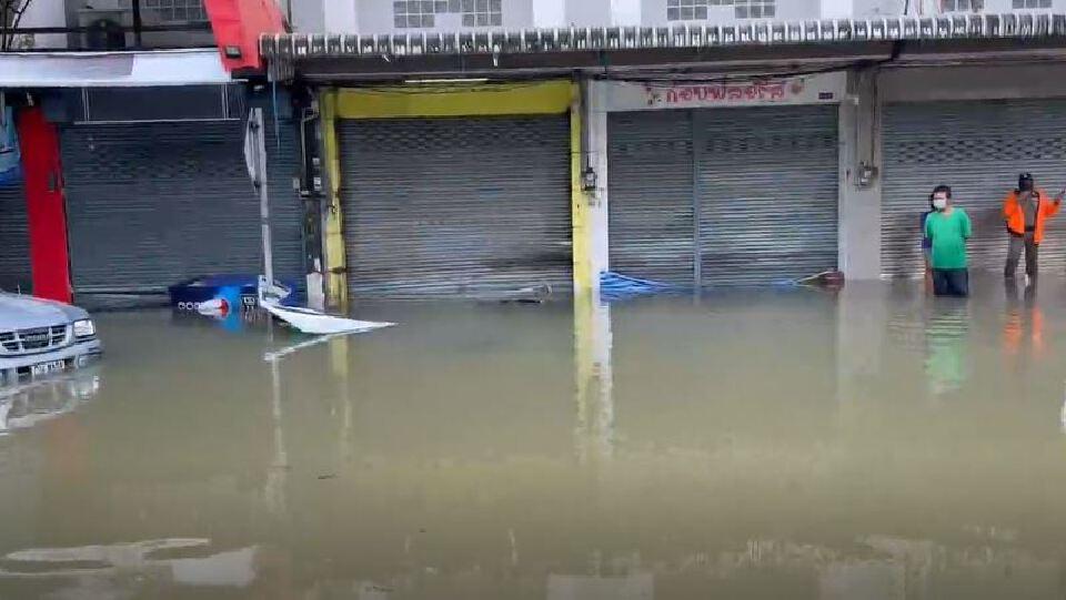 คืบหน้าสถานการณ์น้ำท่วม จันทบุรี ล่าสุดพบผู้เสียชีวิตแล้ว 1 ราย