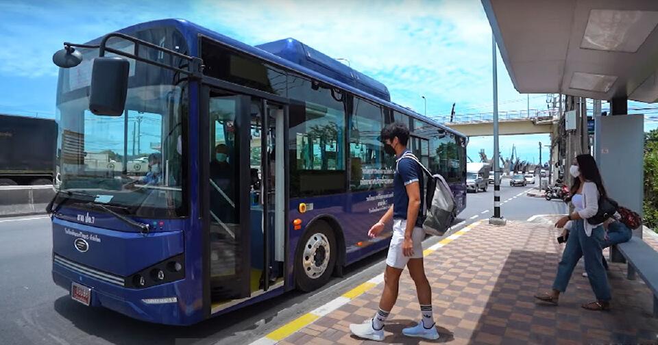BYD เดินหน้าทยอยนำรถบัสไฟฟ้าคาดแตะ 120คันภายในต้นปี 65