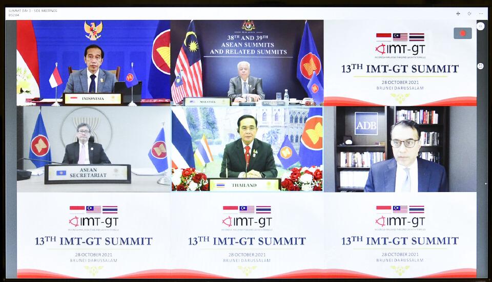 นายกฯร่วมประชุม IMT-GT ผลักดันการลงทุนโครงสร้างพื้นฐาน 1.2 ล้านล้าน