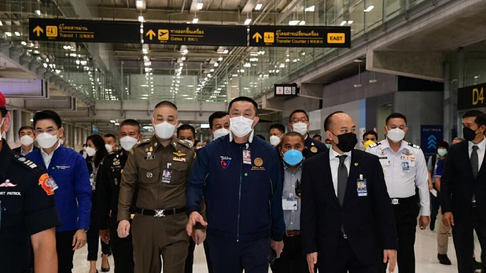 คมนาคมยันสนามบินดอนเมือง-สุวรรณภูมิ พร้อม 100% รับเปิดประทศ