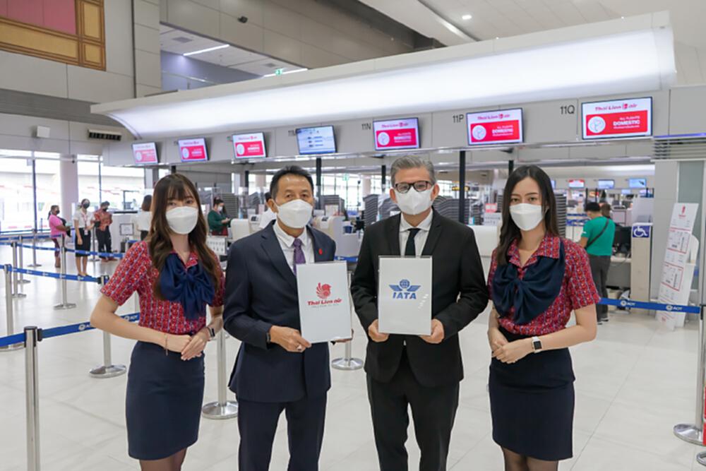 'ไทย ไลอ้อน แอร์' เข้าร่วม 'IATA Travel Pass' อำนวยความสะดวกบินอินเตอร์ฯ