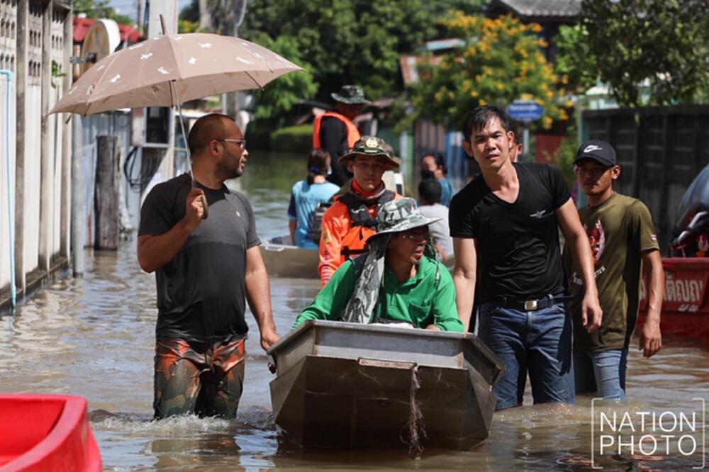 """""""ม.หอการค้าไทย""""ประเมิน""""น้ำท่วม""""คาดเศรษฐกิจเสียหาย 1-2 หมื่นล."""