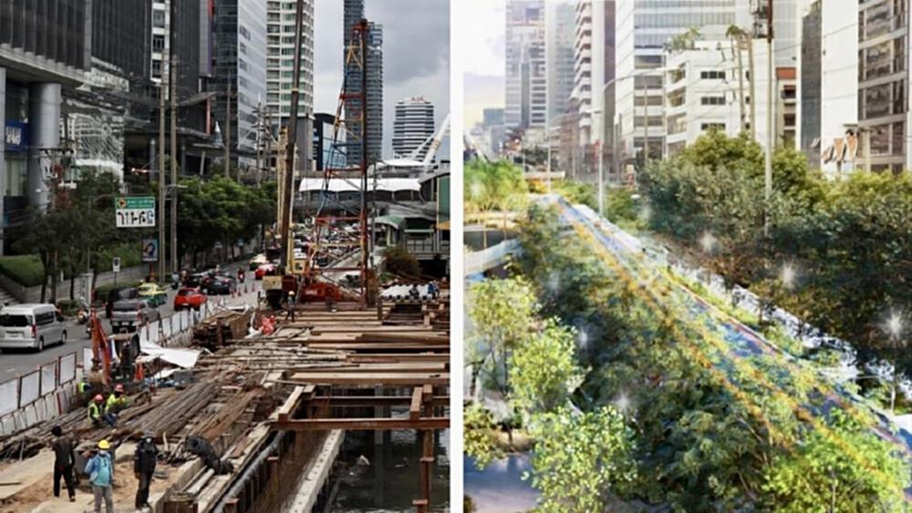 """เผยโฉมสวนสาธารณะ """"คลองช่องนนทรี"""" พื้นที่สีเขียวแห่งใหม่ เปิดเฟสแรก 25 ธ.ค."""