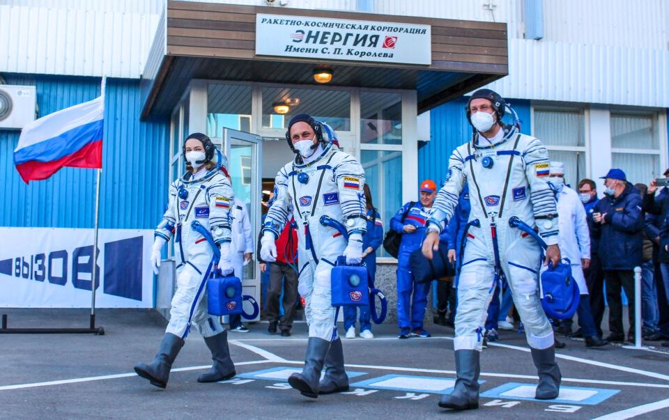 ทีมงานรัสเซียเสร็จภารกิจถ่ายหนังในสถานีอวกาศ